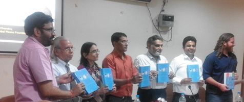Book Release: Global Peace Science, 2016 on Grand Global Peace Meet III, Allahabad, India